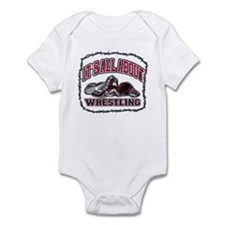 It's All About Wrestling Infant Bodysuit