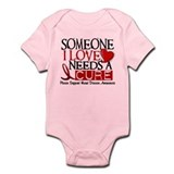 Needs A Cure Heart Disease Infant Bodysuit