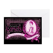 Mme. Lucinda Corsets Greeting Card