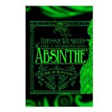 Prof. Wormwood Absinthe Postcards (Package of 8)