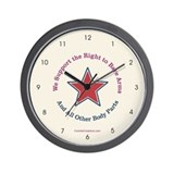 Bare Arms - Wall Clock