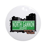 NORTH GANNON AVENUE, STATEN ISLAND, NYC Ornament (