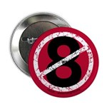 """Overturn 8 - 2.25"""" Button (10 pack)"""