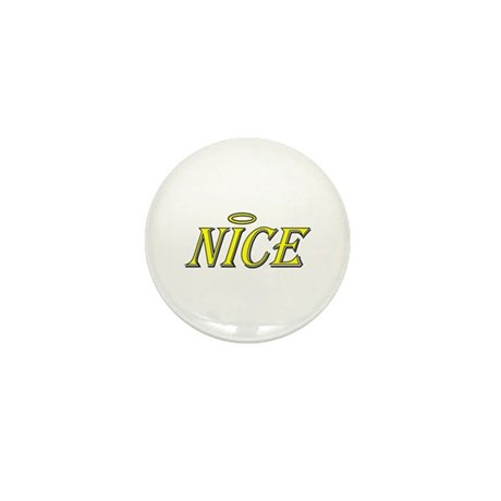 Nice Mini Button (10 pack)