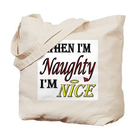 Naughty AND Nice Tote Bag