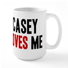 Casey loves me Mug