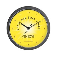 Buff Times - Wall Clock