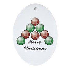 Bocce Oval Ornament