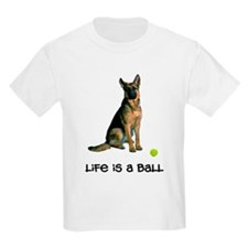 German Shepherd Life Kids Light T-Shirt