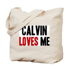 Calvin loves me Tote Bag