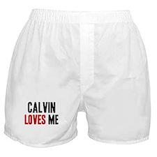 Calvin loves me Boxer Shorts