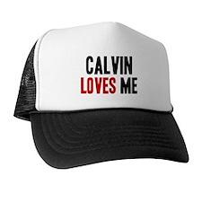 Calvin loves me Trucker Hat