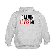 Calvin loves me Hoodie