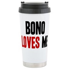 Bono loves me Ceramic Travel Mug