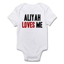Aliyah loves me Infant Bodysuit