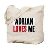 Adrian loves me Tote Bag