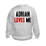 Adrian loves me Sweatshirt