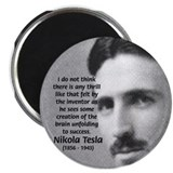 Nikola Tesla 2.25&quot; Magnet (10 pack)