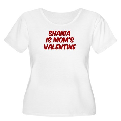 Shanias is moms valentine Women's Plus Size Scoop