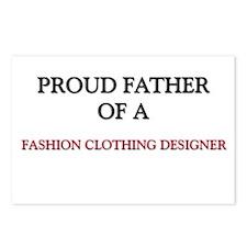 Proud Father Of A FASHION CLOTHING DESIGNER Postca