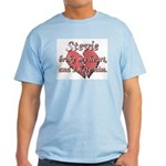 Stevie broke my heart and I hate him Light T-Shirt