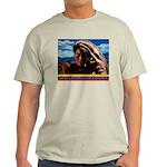Give Thanks and Praises Rastafarian Light T-Shirt