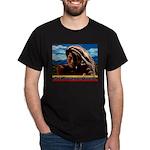 Give Thanks and Praises Rastafarian Dark T-Shirt