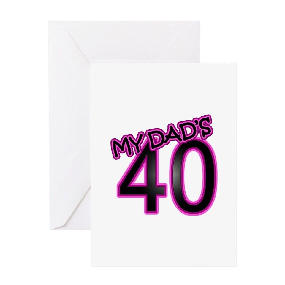 40 Gifts Greeting Cards Dads 40th Birthday Card On PopScreen