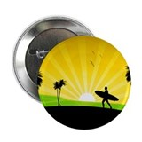 "Summer at the Beach 2.25"" Button"