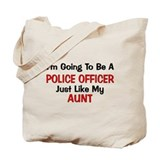 Police Officer Aunt Professio Tote Bag