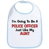 Police Officer Aunt Professio Bib