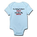 Pilot Uncle Profession Infant Bodysuit