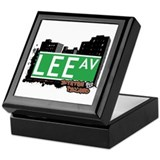 LEE AVENUE, STATEN ISLAND, NYC Keepsake Box
