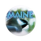 "Maine Chickadee 3.5"" Button"