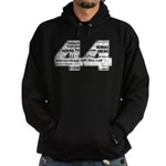 44: Obama Inauguration Newspaper Hoodie (dark)