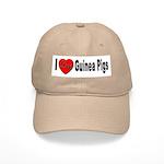 I Love Guinea Pigs Cap
