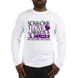 Needs A Cure ALZHEIMERS DISEASE Long Sleeve T-Shir