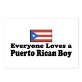 Puerto Rican Boy Postcards (Package of 8)