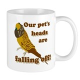 Our pet's heads are falling off! Small Mug