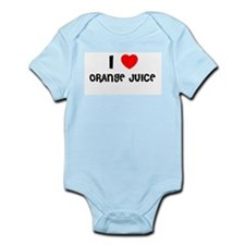 I LOVE ORANGE JUICE Infant Creeper