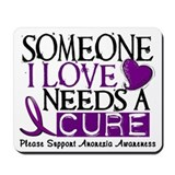 Needs A Cure ANOREXIA Mousepad