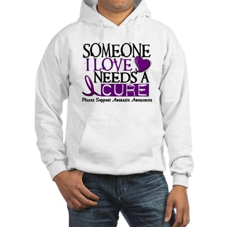 Needs A Cure ANOREXIA Hooded Sweatshirt
