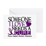 Needs A Cure ANOREXIA Greeting Cards (Pk of 10)