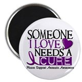 "Needs A Cure ANOREXIA 2.25"" Magnet (10 pack)"