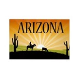 Arizona Rectangular Magnet