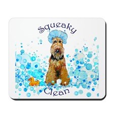 Welsh Terrier Bubble Bath Mousepad