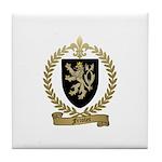 FRIOLET Family Crest Tile Coaster