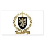FRIOLET Family Crest Rectangle Sticker 50 pk)