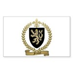 FRIOLET Family Crest Rectangle Sticker 10 pk)