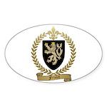 FRIOLET Family Crest Oval Sticker (10 pk)